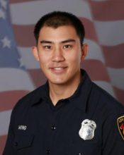 Firefighter Kelly Wong