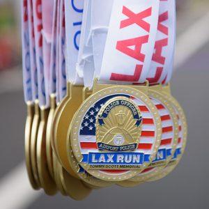 LAX Run 2018 Medals