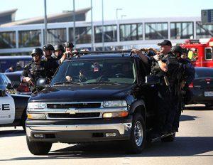 SWAT - TSA Shooting